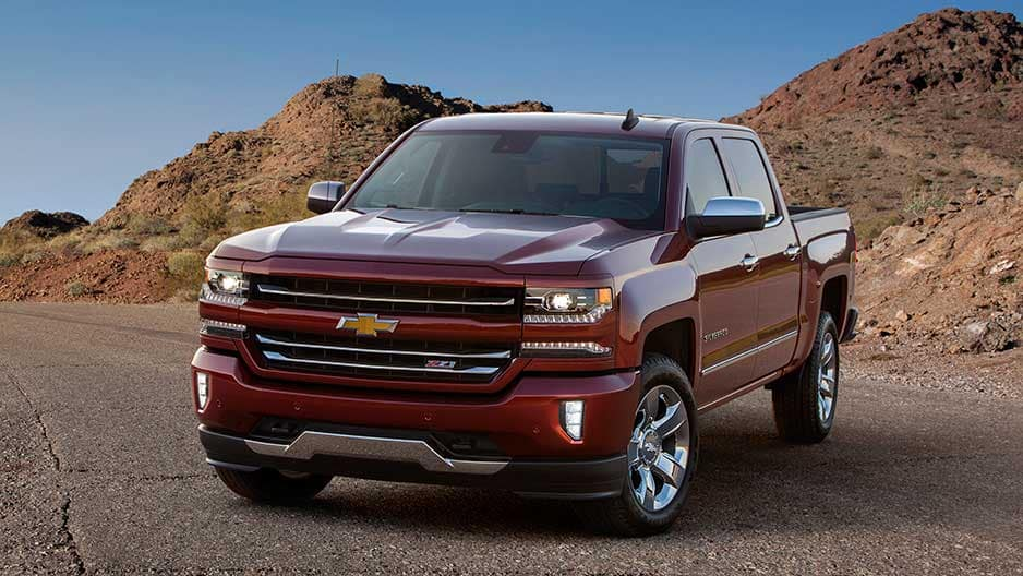 Exterior Features of the New Chevrolet Silverado at Garber in Midland, MI
