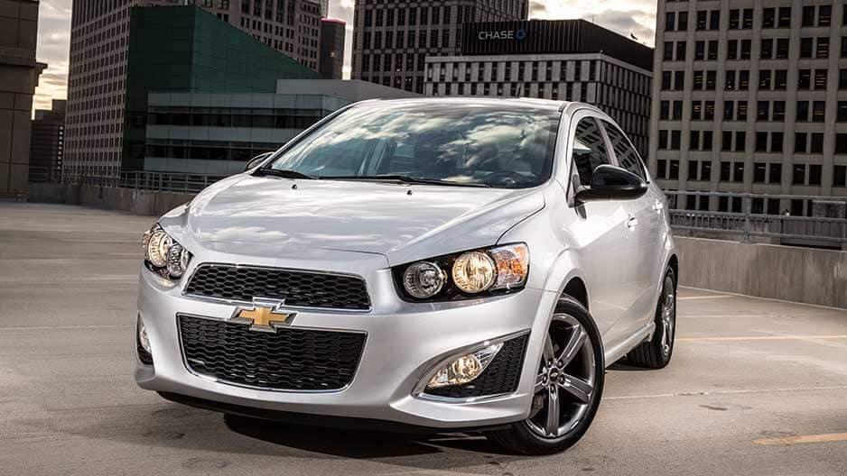 Exterior Features of the New Chevrolet Sonic at Garber in Midland, MI