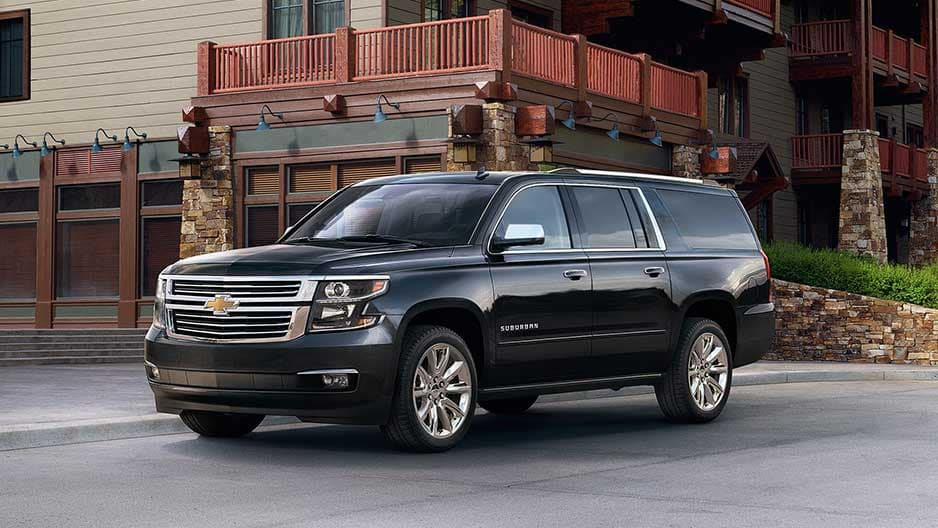 Exterior Features of the New Chevrolet Suburban at Garber in Midland, MI