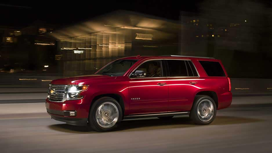 Performance Features of the New Chevrolet Tahoe at Garber in Midland, MI