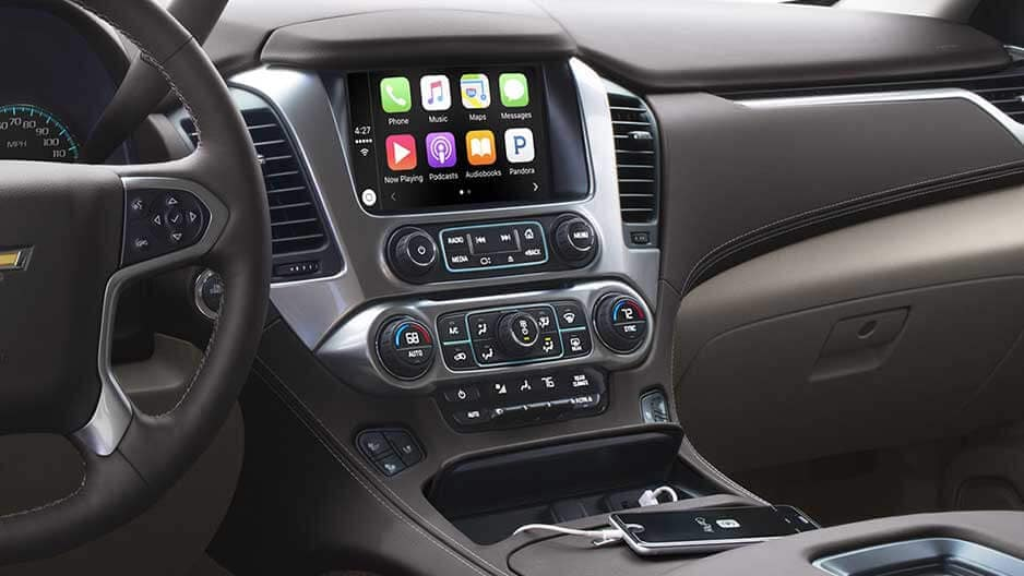 Technology Features of the New Chevrolet Tahoe at Garber in Midland, MI