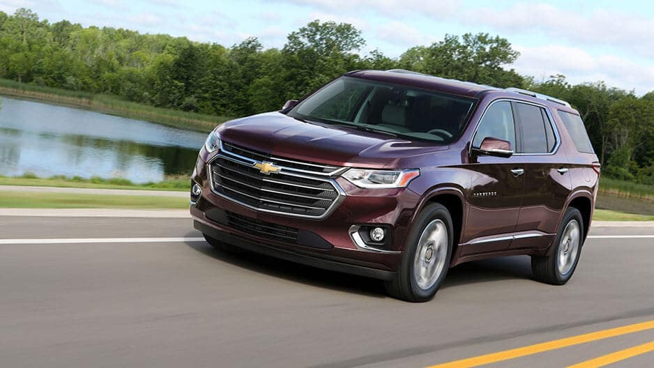 Performance Features of the New Chevrolet Traverse at Garber in Midland, MI
