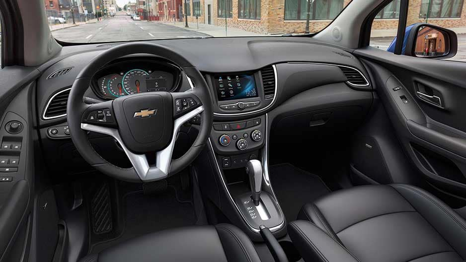 Interior Features of the New Chevrolet Trax at Garber in Midland, MI