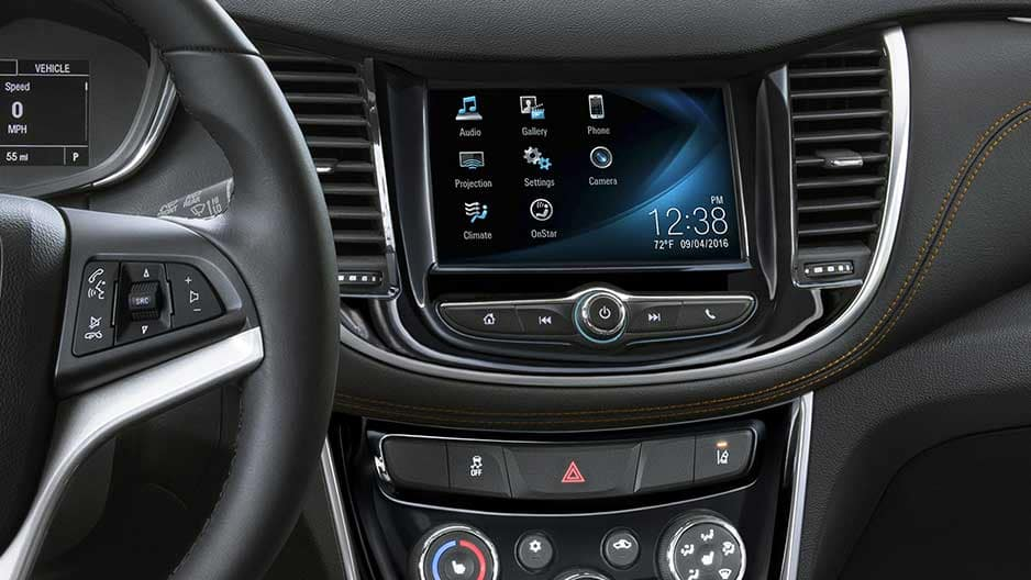 Technology Features of the New Chevrolet Trax at Garber in Midland, MI