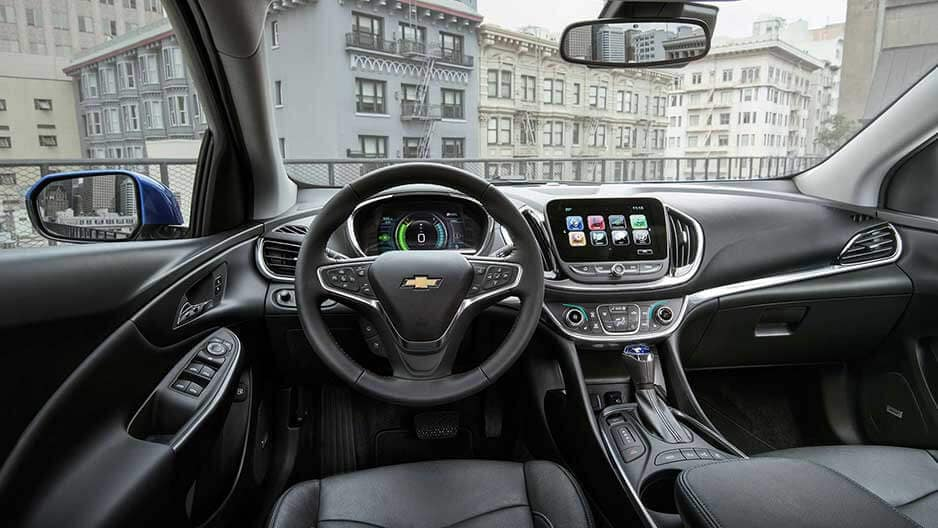 Interior Features of the New Chevrolet Volt at Garber in Midland, MI