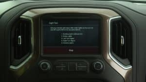 Advanced Trailering System Infotainment app