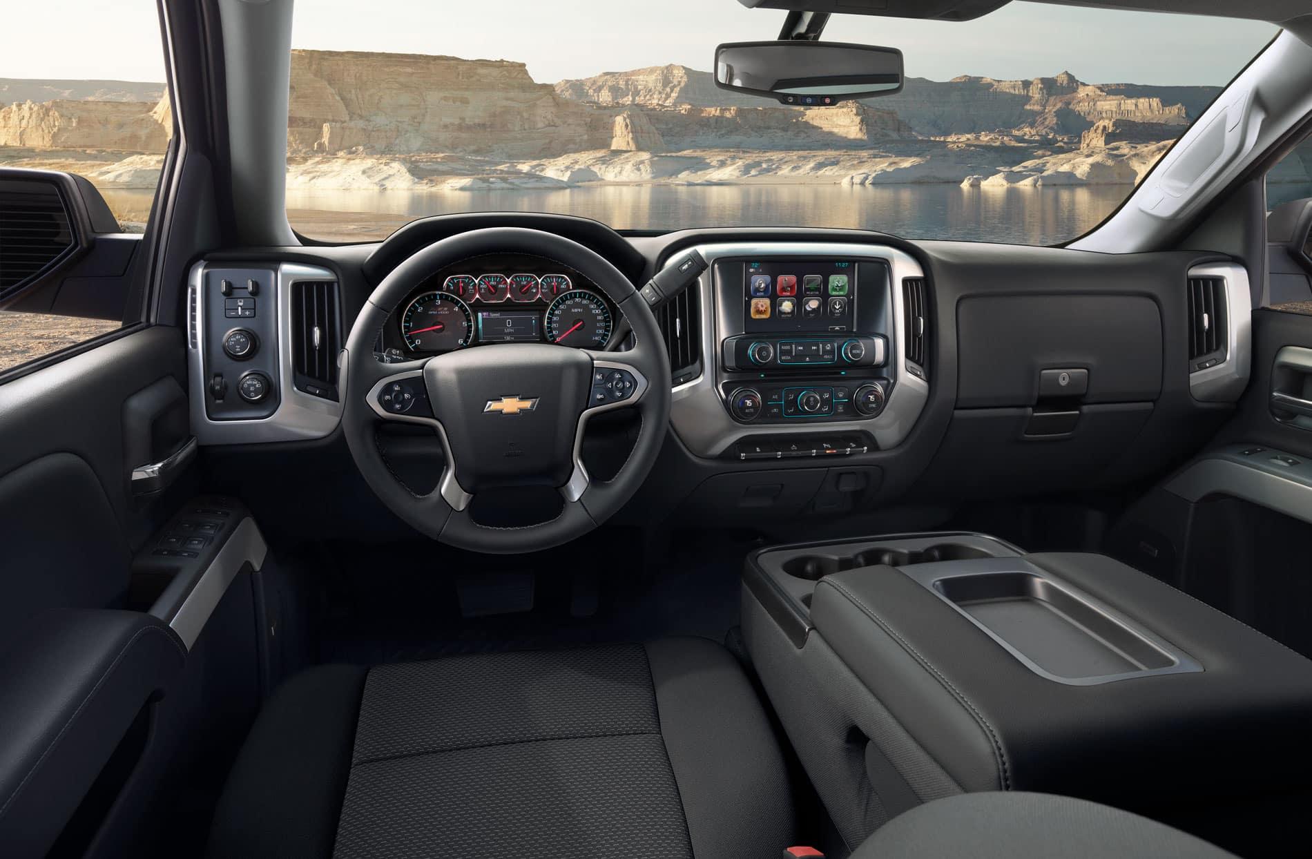 2018 texas edition silverado interior