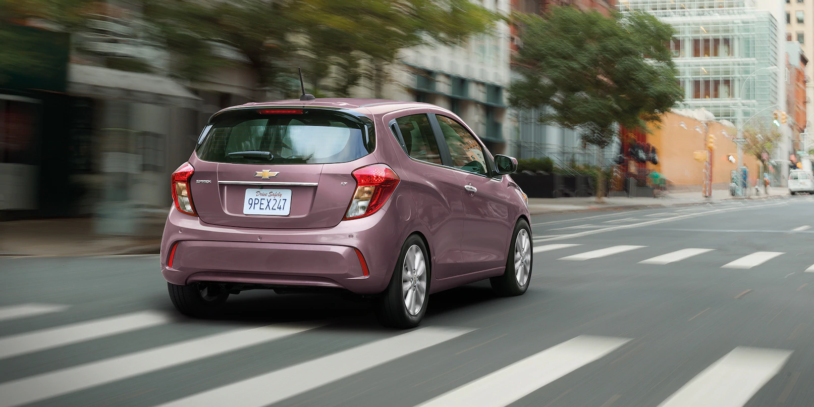 Chevy Spark Vs. Mitsubishi Mirage: Little Hatches Go a ...