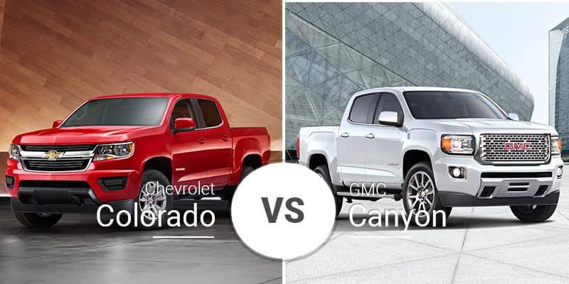 Chevy Colorado Vs Gmc Canyon Cross Town Sibling Showdown