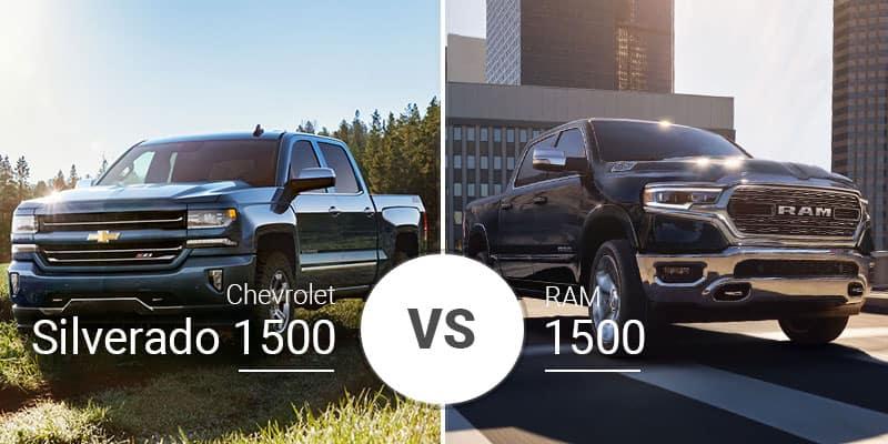 Chevy Silverado 1500 Vs  Ram 1500: Battle of the Redesigns