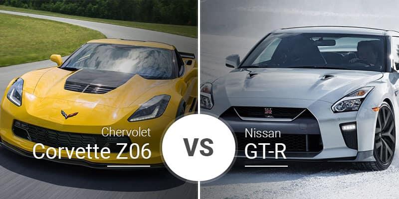Chevy Corvette Z06 Vs  Nissan GT-R: Godzilla Vs  the Legend