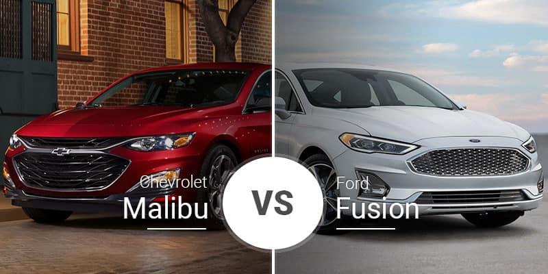 Chevy Malibu Vs  Ford Fusion: Midsize Sedan Shootout