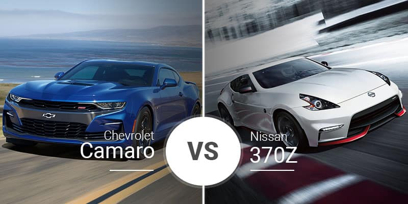 Chevy Camaro Vs Nissan 370z American Muscle Tackles Japanese Style