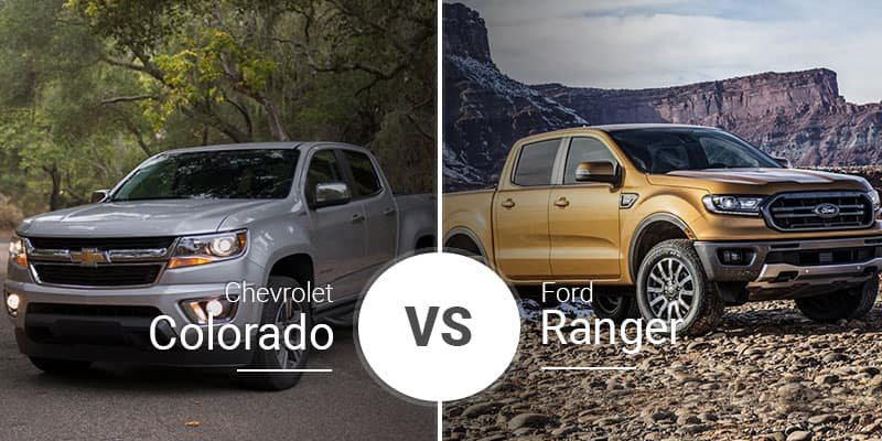 Chevy Colorado Vs  Ford Ranger: Monster of the Midsize Battle