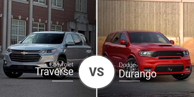 Chevy Traverse Vs  Dodge Durango