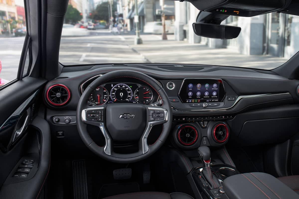 blazer interior dashboard