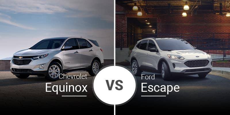 model comparison all Equinox vs Escape