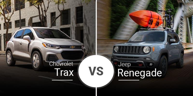 model comparison all Trax vs Renegade