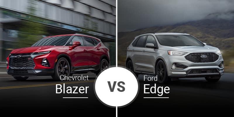 model comparison all blazer vs edge