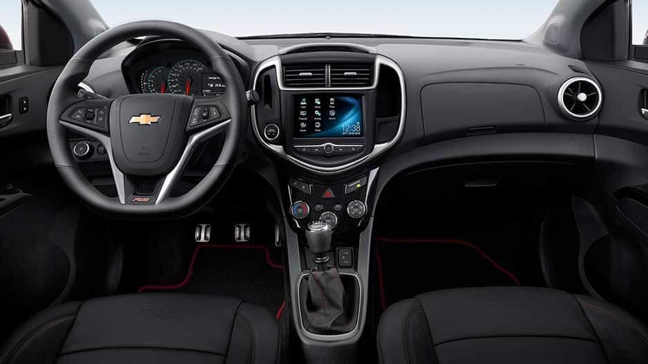 Interior Features of the New Chevrolet Sonic at Garber in Midland, MI