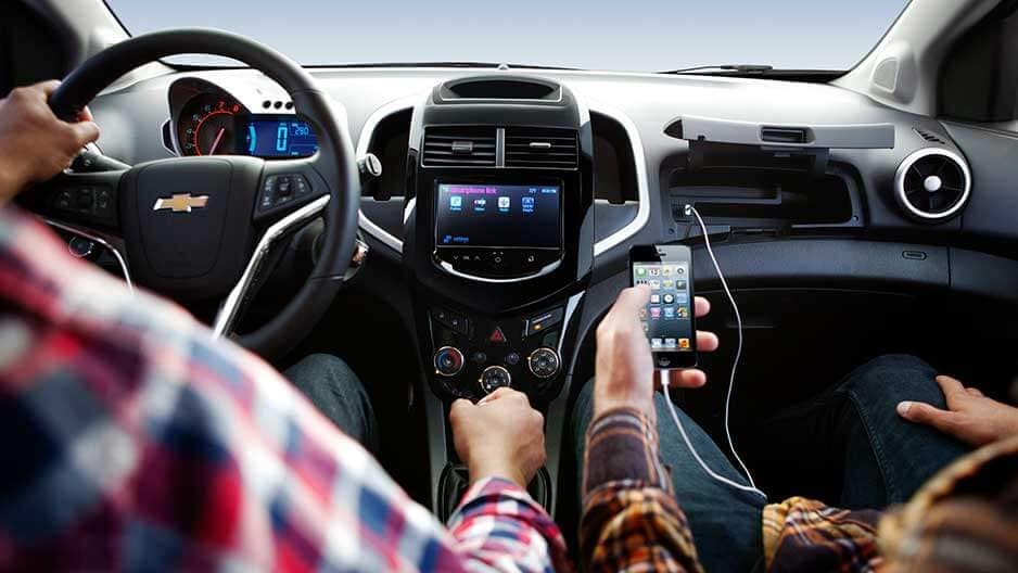 Technology Features of the New Chevrolet Sonic at Garber in Midland, MI