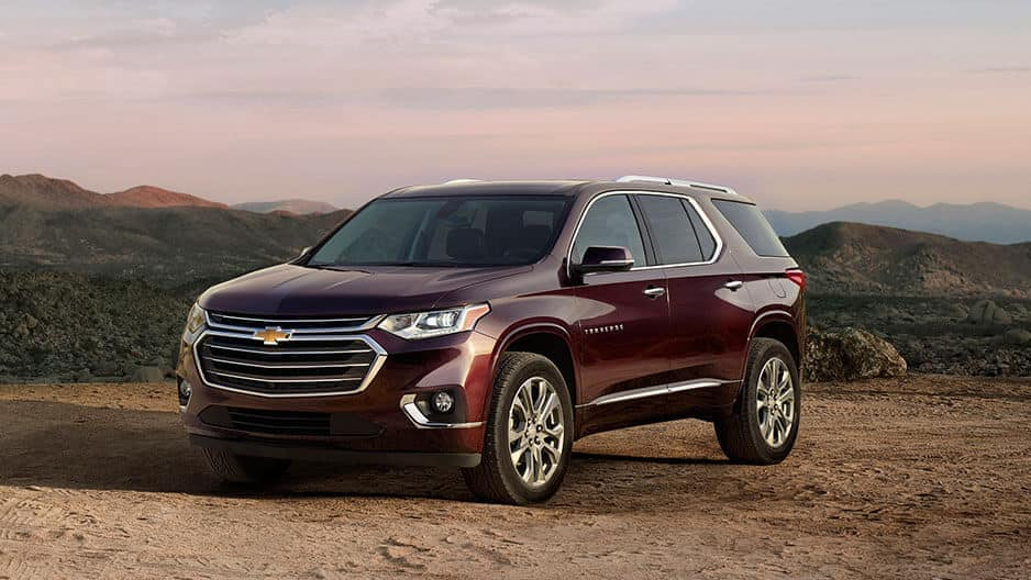 Exterior Features of the New Chevrolet Traverse at Garber in Midland, MI