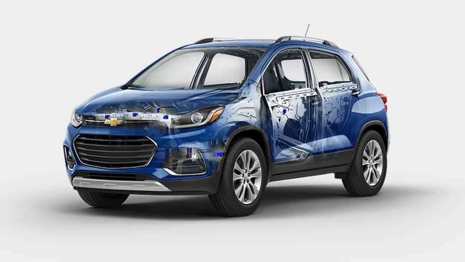 Safety Features of the New Chevrolet Trax at Garber in Midland, MI