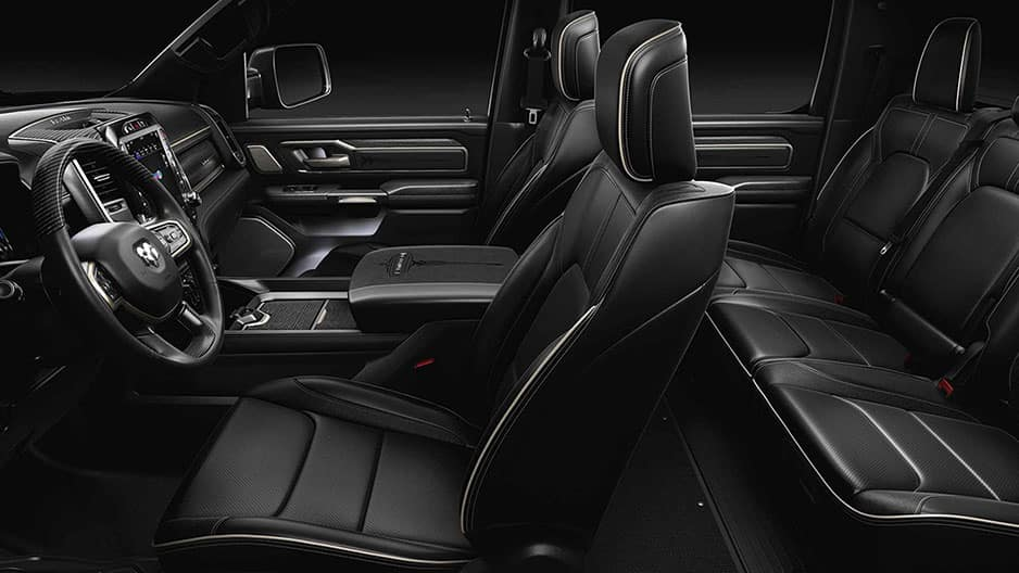 Interior Features of the All New Ram 1500 at Garber in Saginaw, MI