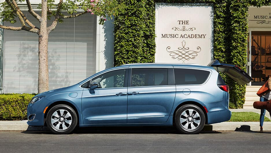 Exterior Features of the New Chrysler Pacifica at Garber in Saginaw, MI