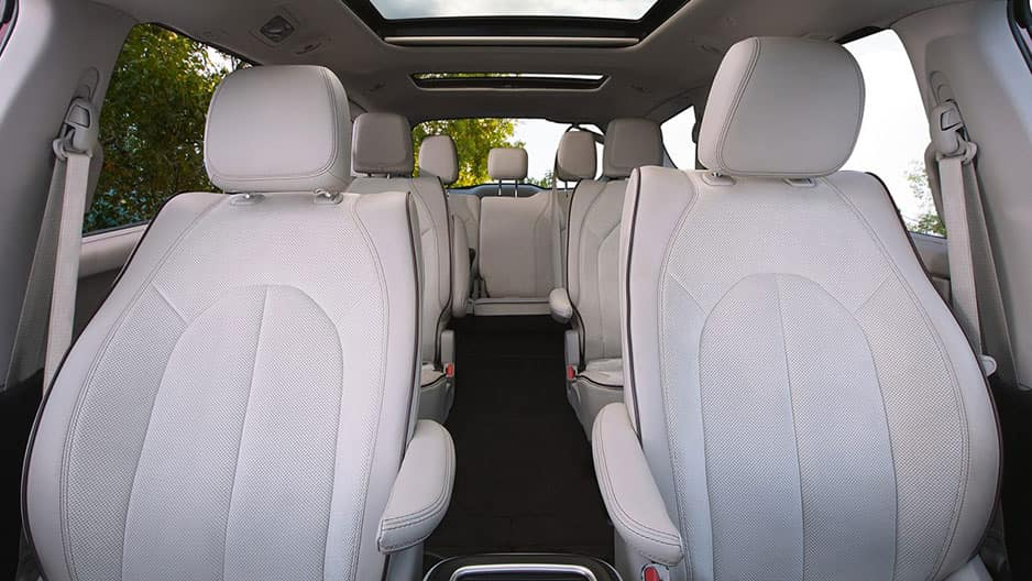 Interior Features of the New Chrysler Pacifica at Garber in Saginaw, MI