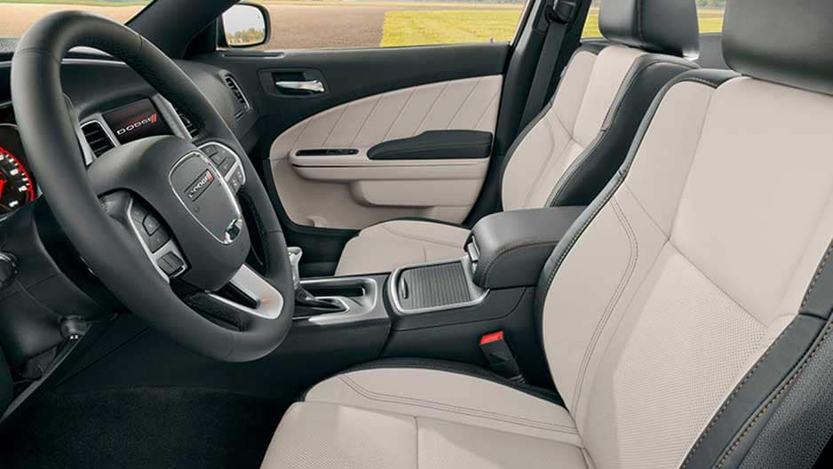 Interior Features of the New Dodge Charger at Garber in Saginaw, MI