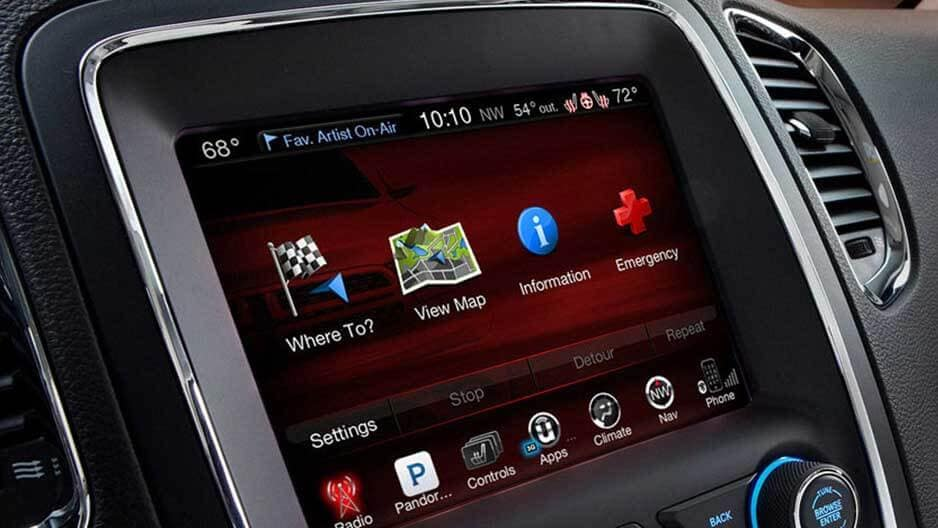 Technology Features of the New Dodge Durango at Garber in Saginaw, MI