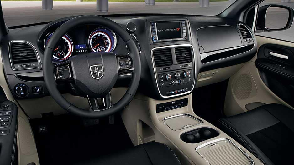 Interior Features of the New Dodge Grand Caravan at Garber in Saginaw, MI