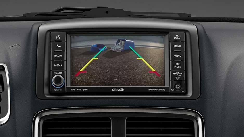 Safety Features of the New Dodge Grand Caravan at Garber in Saginaw, MI