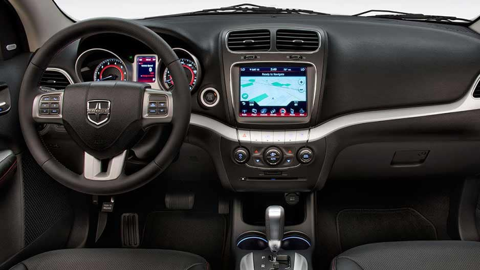 Technology Features of the New Dodge Journey at Garber in Saginaw, MI