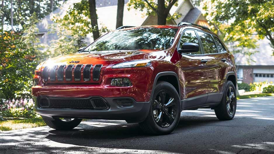 Exterior Features of the New Jeep Cherokee at Garber in Saginaw, MI