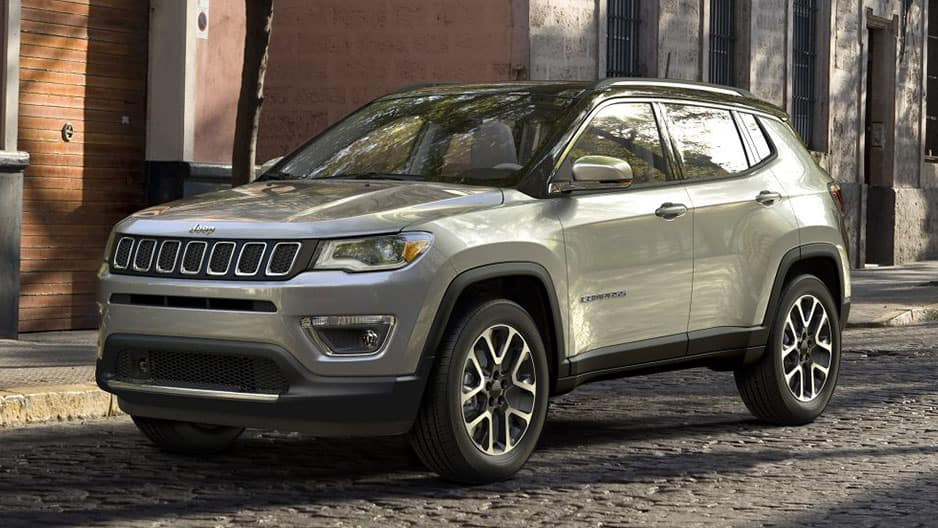Exterior Features of the New Jeep Compass at Garber in Saginaw, MI