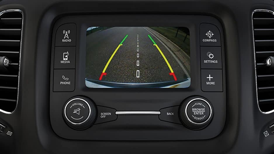 Safety Features of the New Jeep Compass at Garber in Saginaw, MI