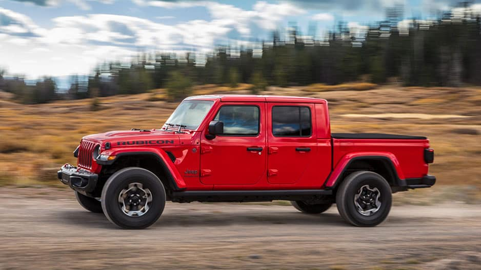 Exterior Features of the New Jeep Gladiator at Garber in Saginaw, MI