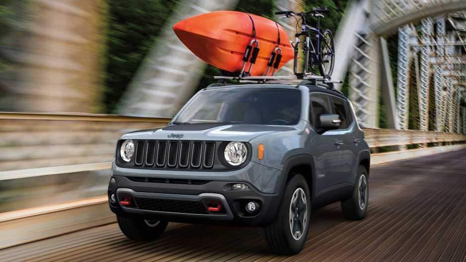 Exterior Features of the New Jeep Renegade at Garber in Saginaw, MI