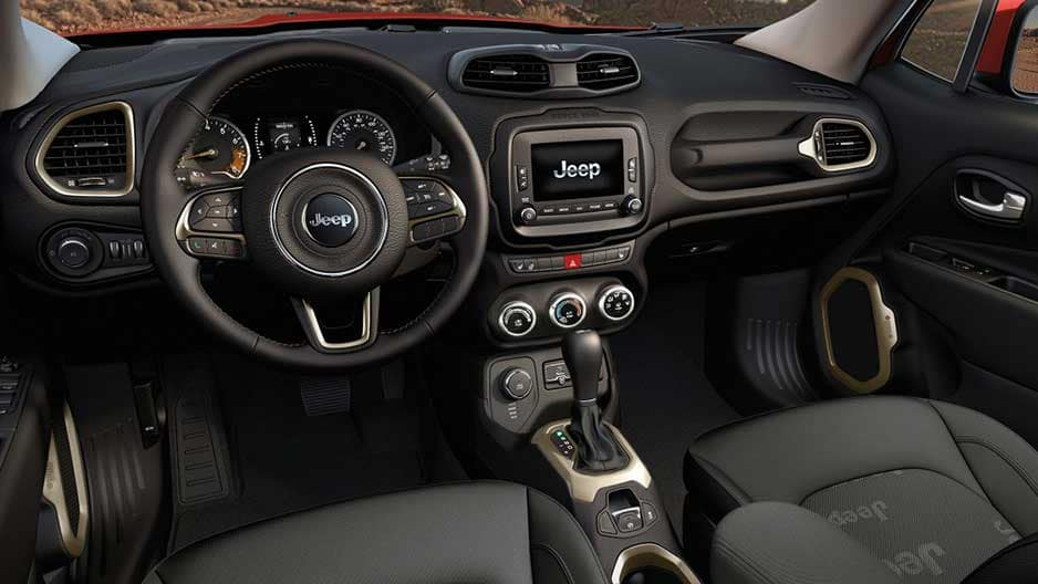 Interior Features of the New Jeep Renegade at Garber in Saginaw, MI