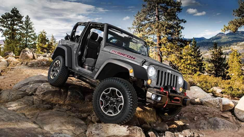 Exterior Features of the New Jeep Wrangler at Garber in Saginaw, MI