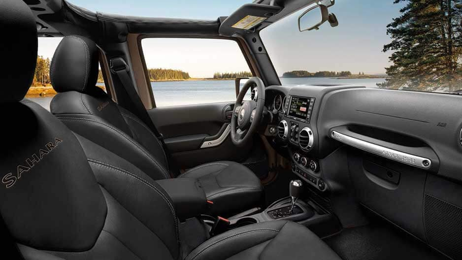Interior Features of the New Jeep Wrangler at Garber in Saginaw, MI