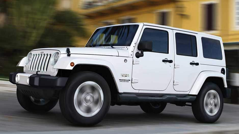 Exterior Features of the New Jeep Wrangler JK at Garber in Saginaw, MI