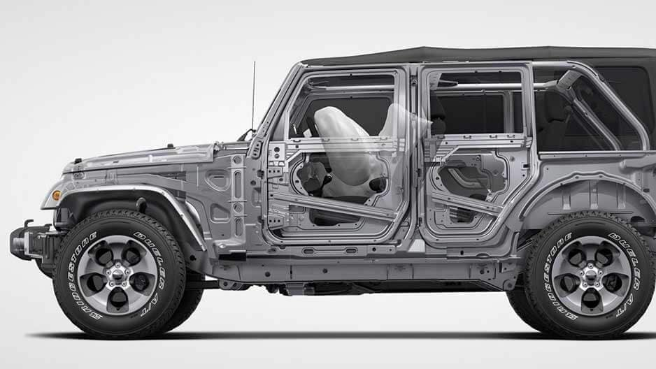 Safety Features of the New Jeep Wrangler JK at Garber in Saginaw, MI
