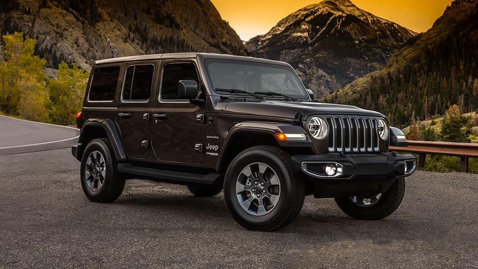 Exterior Features of the New Jeep Wrangler JL at Garber in Saginaw, MI