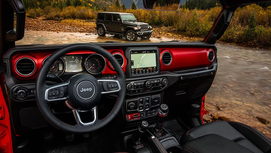 Technology Features of the New Jeep Wrangler JL at Garber in Saginaw, MI