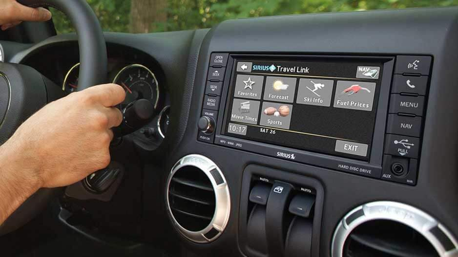 Technology Features of the New Jeep Wrangler at Garber in Saginaw, MI