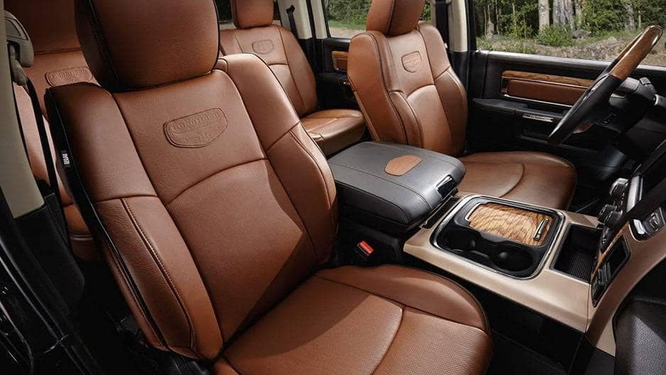 Interior Features of the New RAM 1500 at Garber in Saginaw, MI