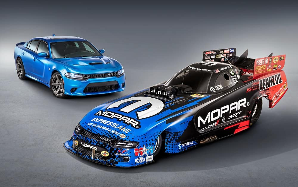 Check Out the New NHRA Dodge Charger Lookalike